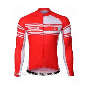 BEROY custom high quality sublimation printing cycling jerseys ,men's long sleeve cycling gear