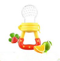 Amazon Hot Sale BPA Free Nipple Silicone Baby Food Feeder