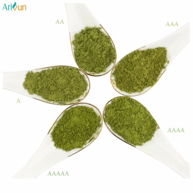 Professional Manufacturer Supply Six Grades Matcha Green Tea Powder