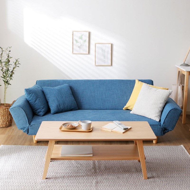 Japanese Style Lazy Sofa Recliner Chair Double Wooden Sofa Bed Set Living  Room - Buy Japanese Tatami Folding Sofa Bed,Wooden Sofa,Flip Sofa Bed ...