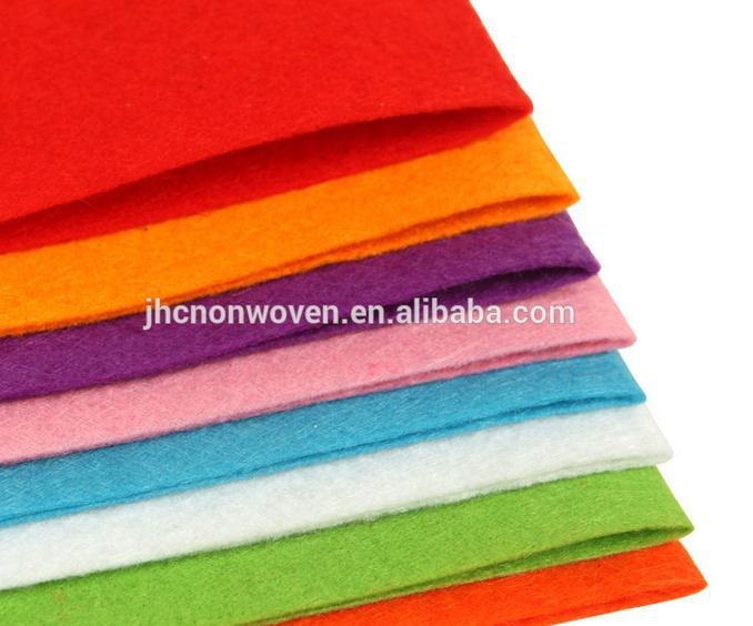 Washable Polyester Self Adhesive Colored Felt Fabric Used Stickers ...