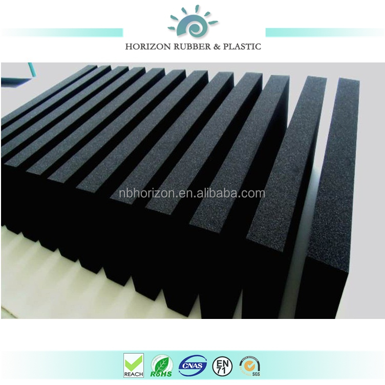 High Quality 2MM Closed Cell EPDM/EVA rubber foam sheet
