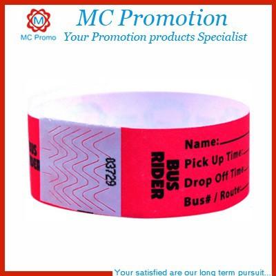 Custom Rubber Bracelets & Paper Wristbands