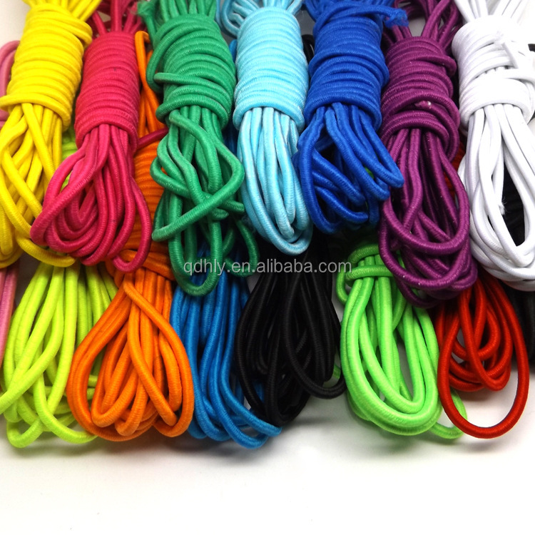 elastic tape bungee cord 3mm