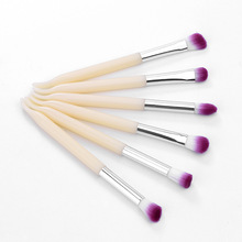 New arrival private 6 piece Eye Shadow makeup brush set Professional Cosmetic Eyeshadow Brush