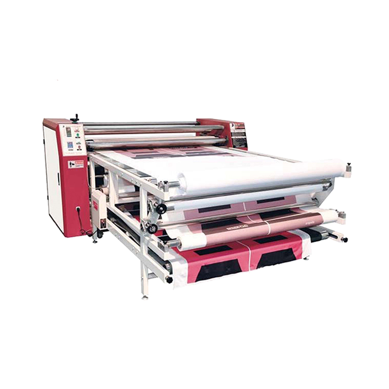 Use Textile Digital Printing Ink Roll Sublimation Transfer Heat Press Machine
