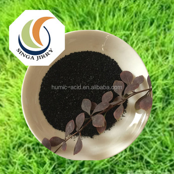 Factory price organic fertilizer potassium humate fulvic acid flake