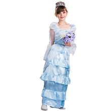 Girls Halloween Victorian Princess Cosplay Costume Party Fancy Dress kids costume princess