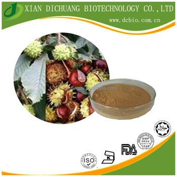 natural horse chestnut extract/Aescine extract powder/ Aescine 20% HPLC