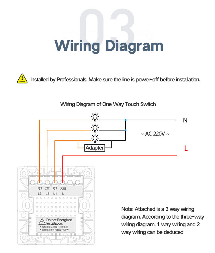 2 Gang 1 Way Light Switch Wiring Diagram Uk