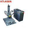 XT Laser Mini 10W 20W 30W 50W desktop Raycus IPG mopa metal optical fiber laser wire marking machine price