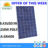thin film solar module solar panel module 300 watt solar moudle kit