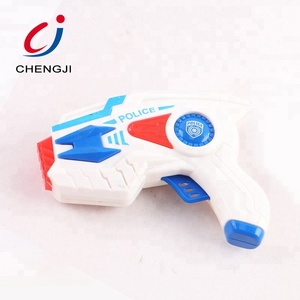 Flashing space gun set laser gun toys for kids