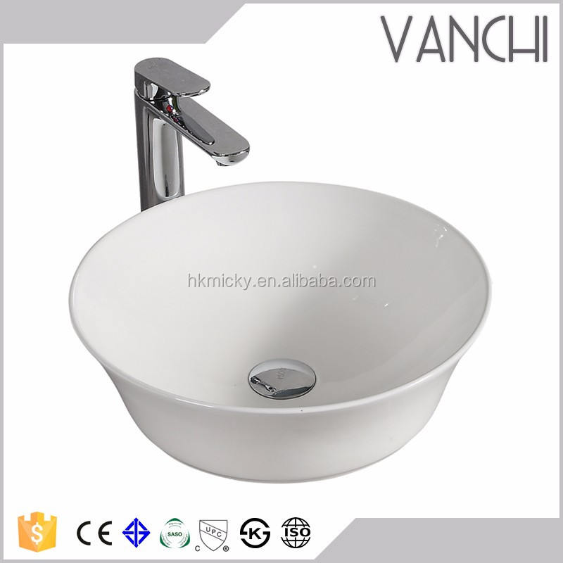 Charmant Bathroom Ceramic Round Self Cleaning Sink   Buy Round Sink,Shampoo Sink,Self  Cleaning Sink Product On Alibaba.com