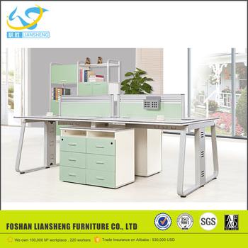 fancy design office partition for sale 4 person workstation rh alibaba com L-shaped Multi Workstations 4 Person Workstation Drawing