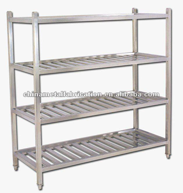 De calidad superior del metal display rack para cocina - Estanterias acero inoxidable ikea ...