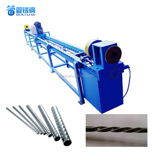 Multi Function Stainless Steel / Iron / Aluminum / Copper Tube Metal Pipe Thread Machine