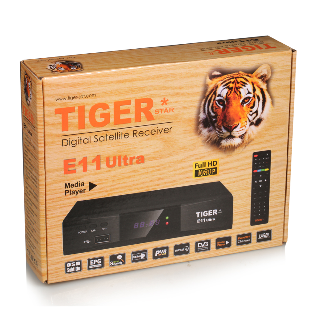 2017 Newest Product Mini <strong>Receiver</strong> Satelite Tiger E11Ultra Set Top Box