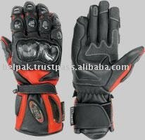 Motorbike Carbon Kevlar Race Sports Leather Gloves