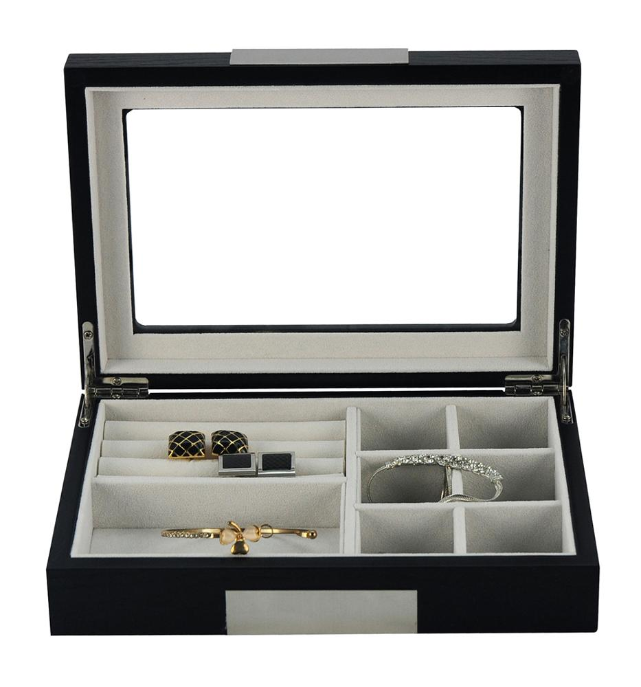 Sonny Custom Ginko Classic Wooden 8 Watches and Jewelry Ring Box Custom with a Drawer Personalised Ladies Watch Box