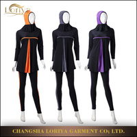 Manufacture Islamic Women Breathable Swimming Wear,Quick Dry Pant Top Swimwear