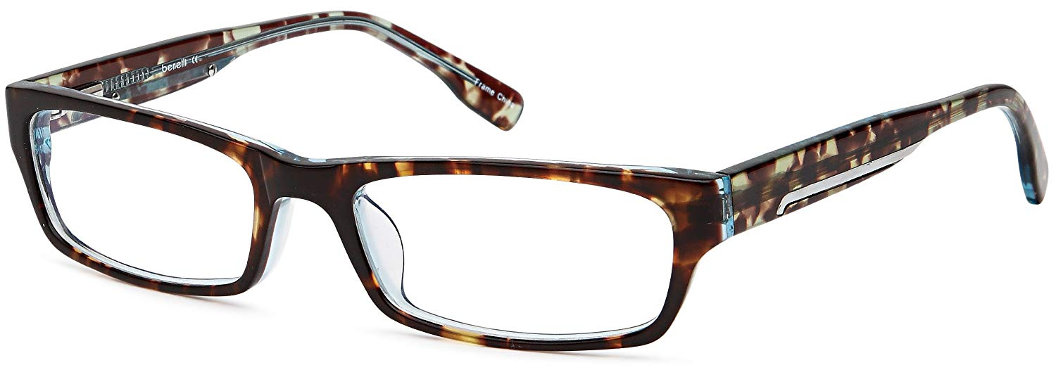 56876f68194 Get Quotations · Mens Throwback Rimmed Prescription Rxable Optical Glasses  Frames