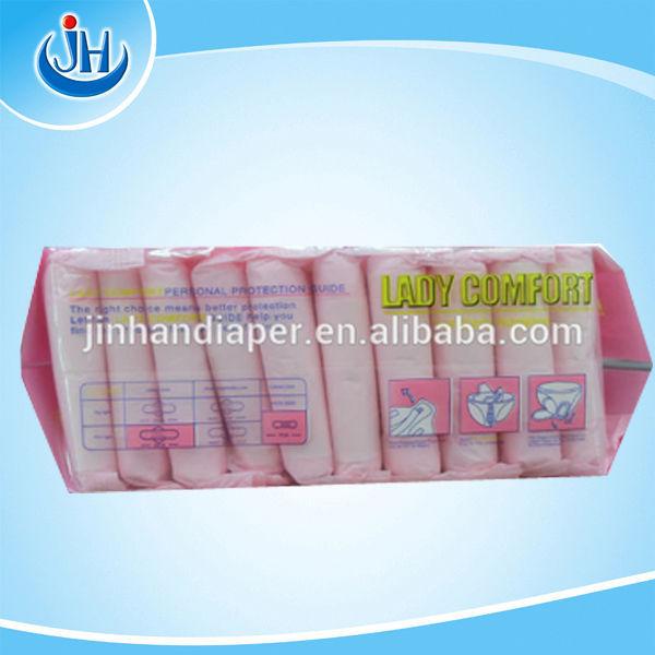 Free Sample Women Sanitary Napkin Comfortable Sanitary Pads