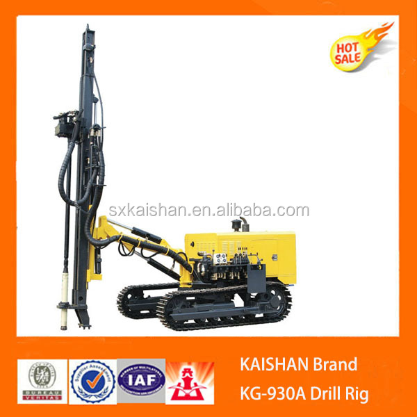 Kaishan Model KG930A Mines Rock Drilling Rigs/Rock Blasting Drilling Rig