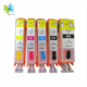 PGI-520 CLI-521 Refillable Ink Cartridge for canon pixma series ip3600 ip4600 mp540 mp620 mp630 mp980 mx860 mx870 printer