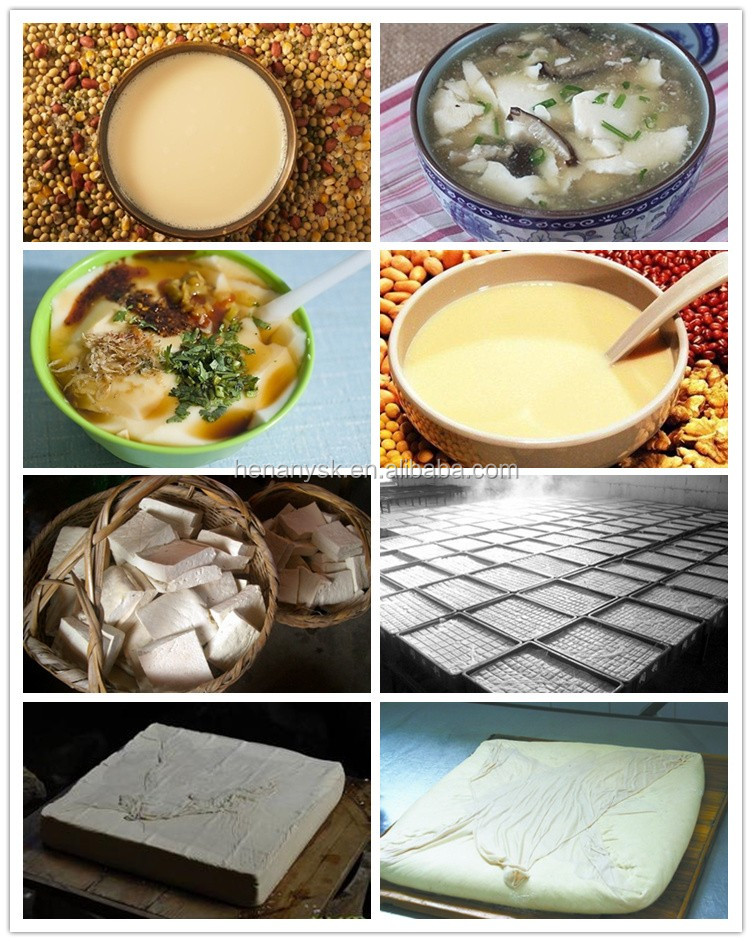 1 single pan presser Automatic Tofu Commercial Soybean milk molding Bean Curd pressing Machine