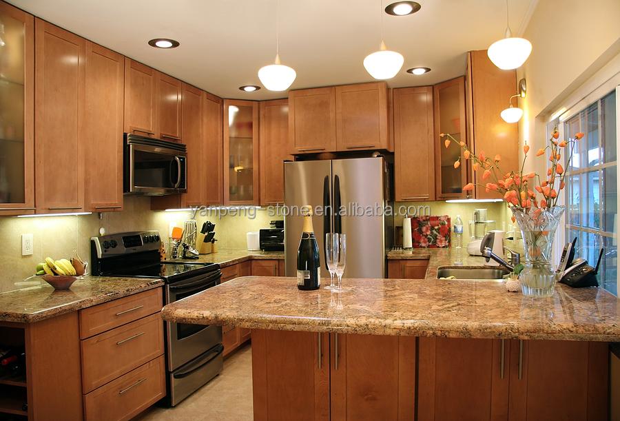 China Juparana Gray Granite Bathroom Vanity Top Kitchen Table ...