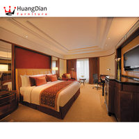 4 star hotel solid wood furniture turnkey contracted hotel project