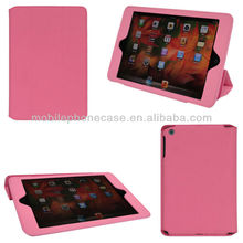 Hot Selling Foldable PU Cover With Beauty Design High Quality Shockproof Tablet Flip Stand Case For iPad Mini 3