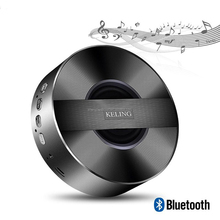 A5 Multifunctional Round Shape Design Loudspeaker Bluetooth Speakers Subwoofer