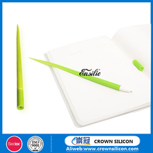 2016Promotional Office decorative Cute silicone grass shape gel pen