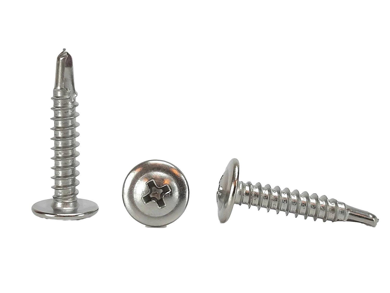 LUTER 4Pcs 5 Inch Metal Eye Screws Hooks Bolt Heavy Duty Zinc Plated Hooks Round Eyelet Self Tapping Screw Ring