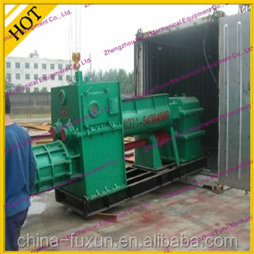 block & brick making machine for solid clay brick with diesel engine