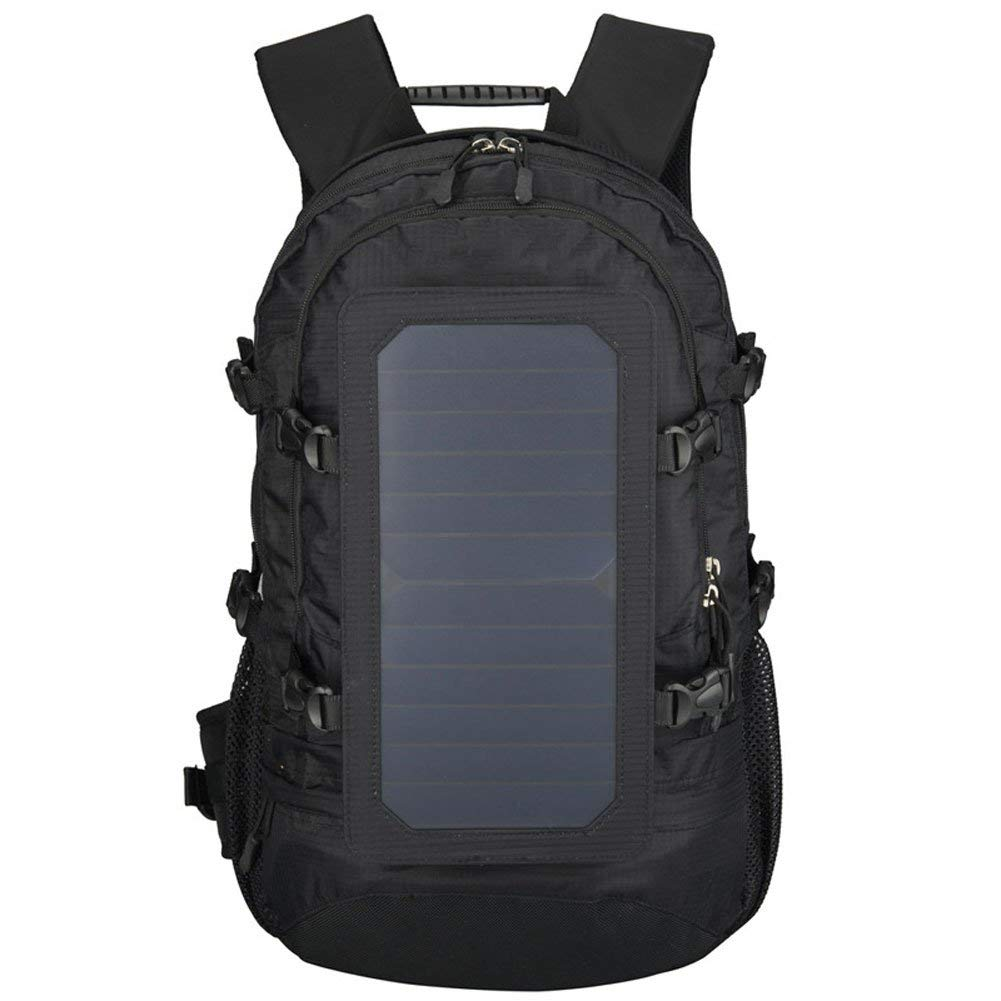 GDSZ Hiking Backpack,Solar Powered Backpack,Laptop Backpack With Solar Panel Charger,Hiking Daypack For Iphone Ipad Waterproof Nylon Camping Hunting And Outdoor Sports Cooler Bags