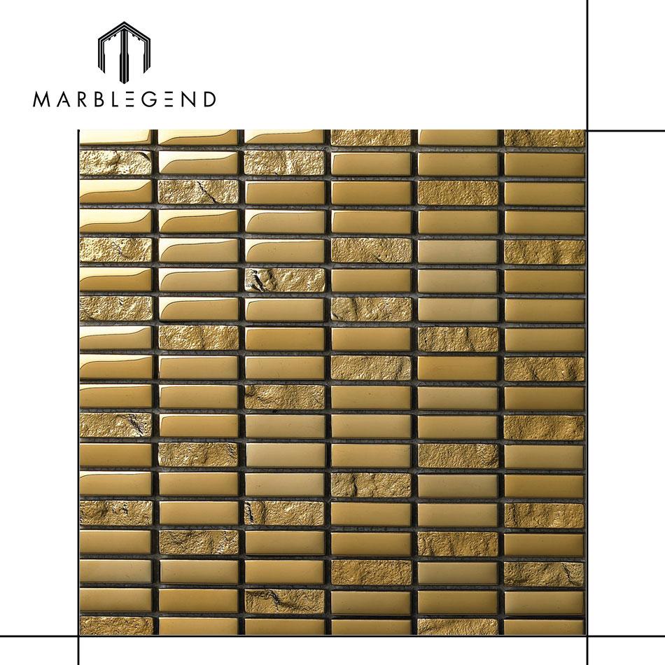 - Golden Strip For Kitchen Backsplash Tile Gold Glass Stickers