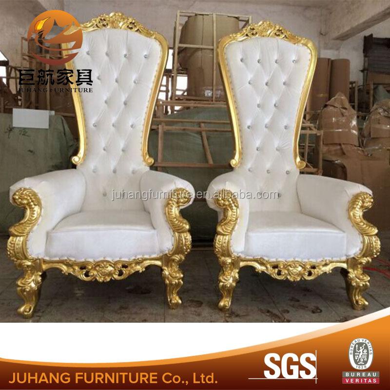 Wedding Elegant Throne Royal Sofa King Chair Product On Alibaba