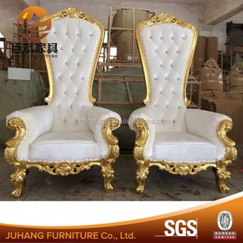 Wedding Elegant Throne Royal Sofa King Chair