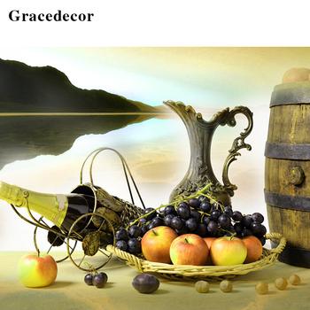 Yeni Tasarım Giclee Baskı Natürmort Duvar Dekoru Meyve Sepeti Boyama