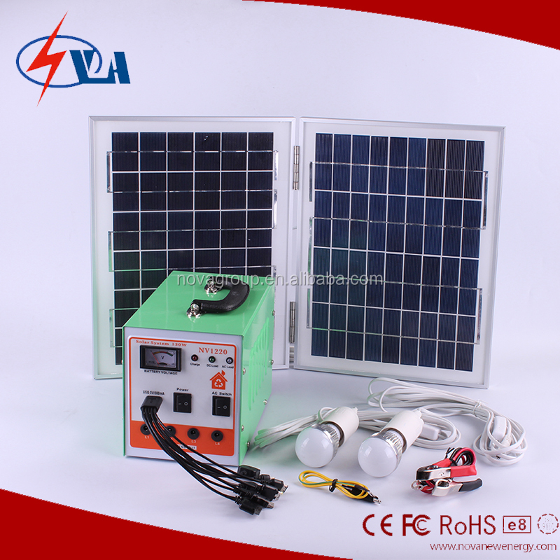 micro solar kits system for home