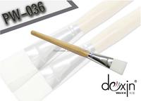 paraffin wax nail polish applicator brush wide