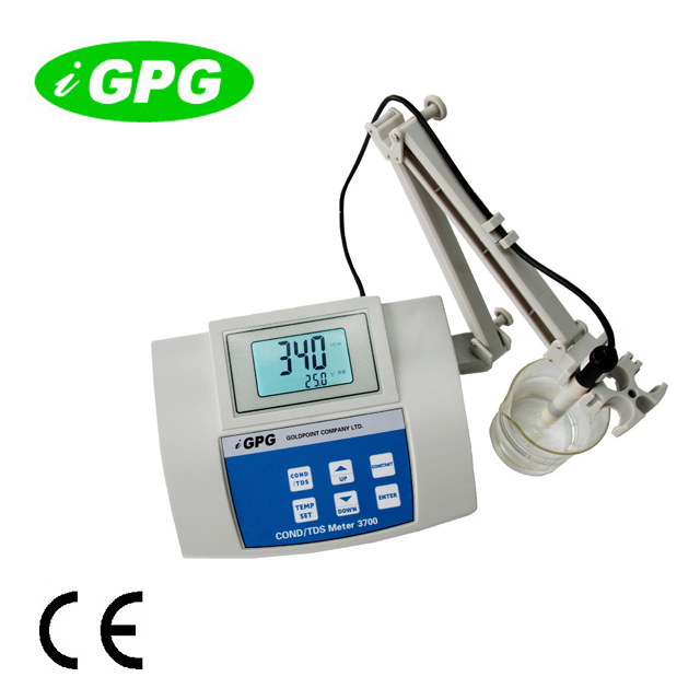 CE approval 3700 Multifunctional benchtop digital lab water quality test instrument <strong>meter</strong> ph mV T cf ec tds <strong>meter</strong>