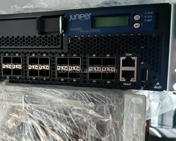 Juniper Ex4500-40f-vc1-d,Ex 4500,40-port 1/10g Sfp+ Converged  Switch,Interconnect Module With 128g Vc,1200w Dc Ps - Buy  Ex4500-40f-vc1-d,Juniper