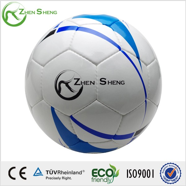 2016 china PU hand naaien voetbal, voetbal
