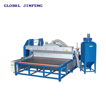 JFDS 2600 Horizontal automatic glass tempering sand blaster
