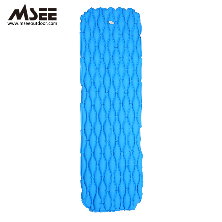 MSEE Speciale Ontwerp Kalebas structuur opblaasbare water mat drijvende tent zee bed