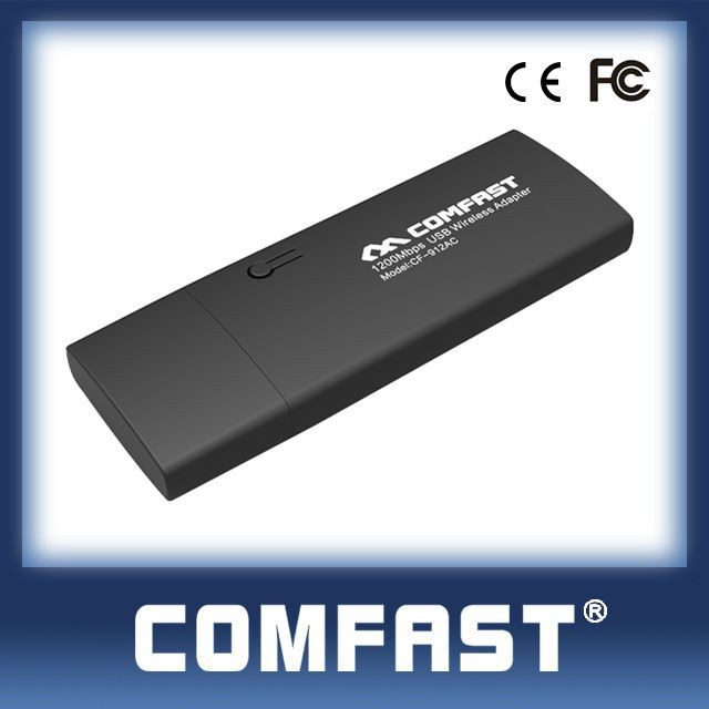 Comfast Cf-912ac Realtek 8812au 1200mbps Highest Speed 2 4ghz & 5 8ghz Usb  Wireless Extender - Buy Usb Wireless Extender,Usb3 0 Wireless